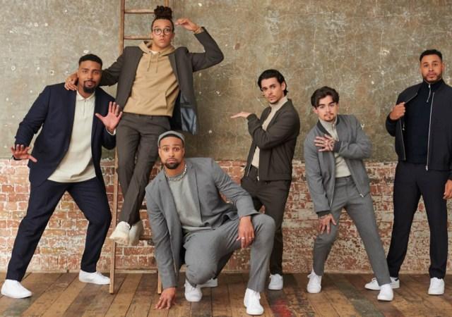 Diversity x next menswear campaign