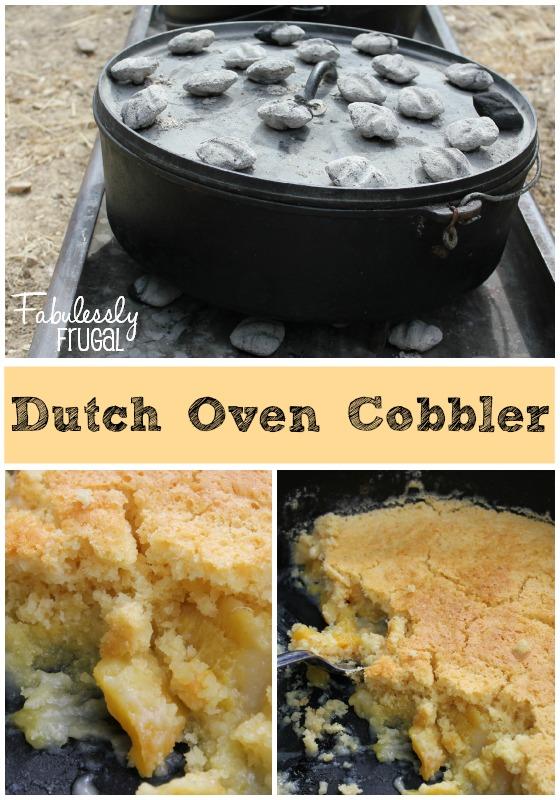 dutch oven cobbler