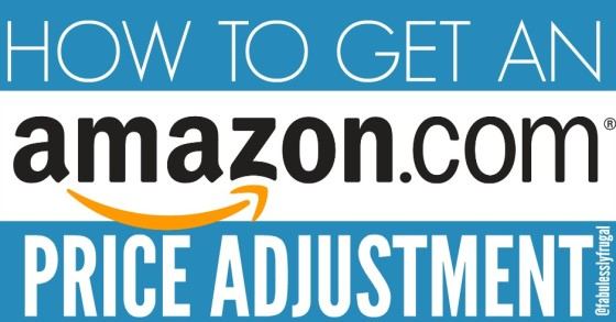 how to get an amazon price adjustment