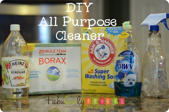 DIY all purpose cleaner recipe