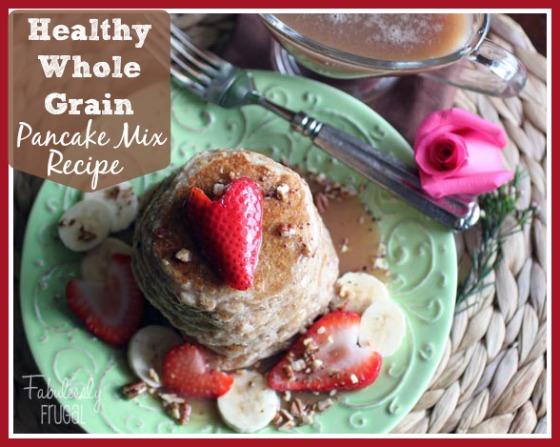 Healthy Whole Grain Pancake Mix Recipe