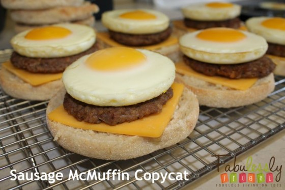 Sausage McMuffin pic 1