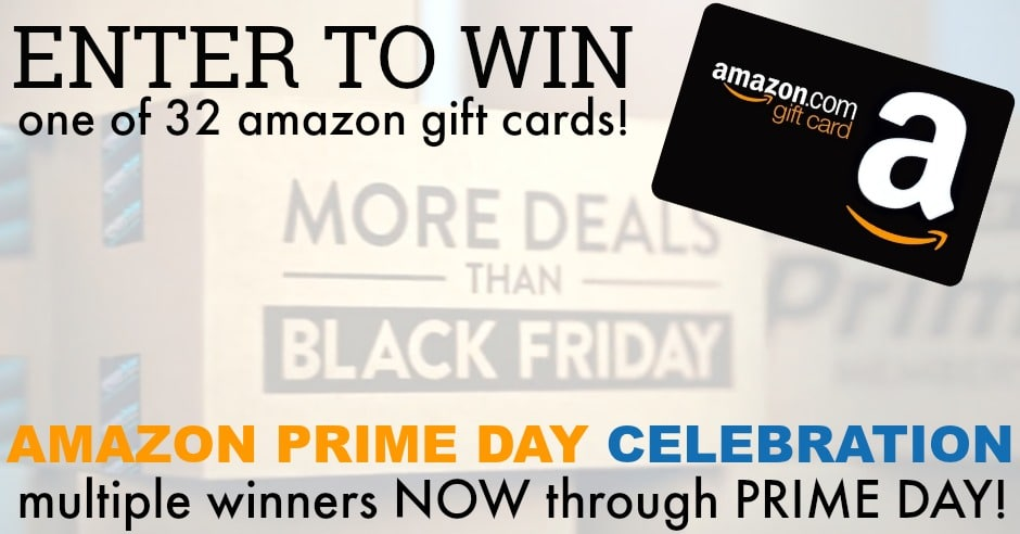 Amazon prime day gift card giveaway