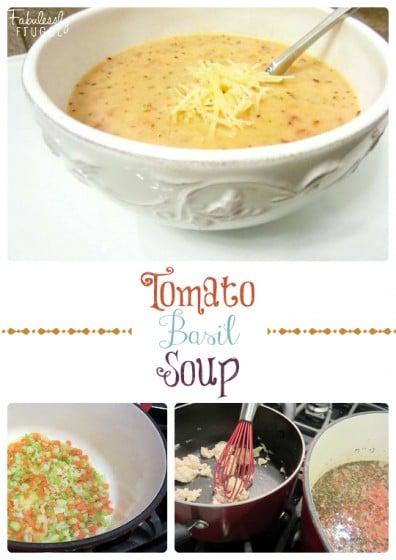 the tomato basil soup