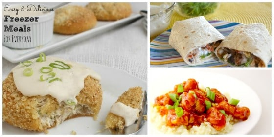 Delicious and Easy Freezer Meals For Everyday