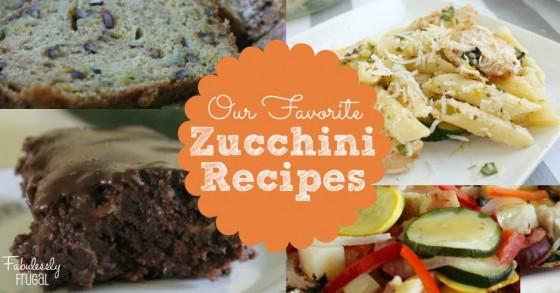 Fav Zucchini Recipes FB w Logo