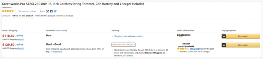Amazon tips to find cheaper products