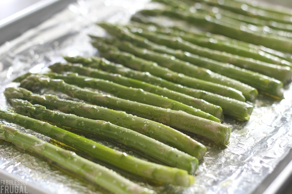 easy perfect roasted asparagus