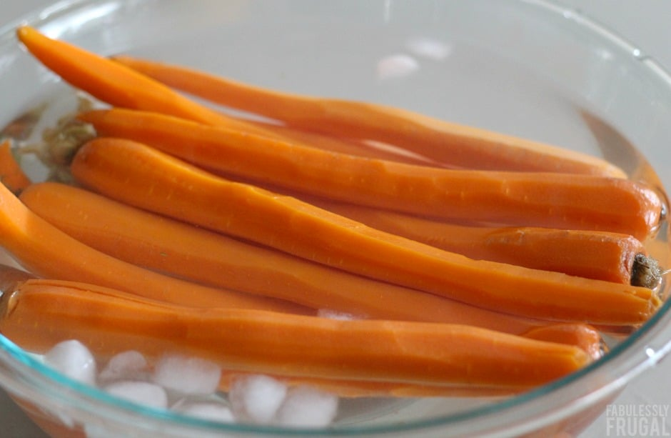 orange glazed grilled carrots recipe