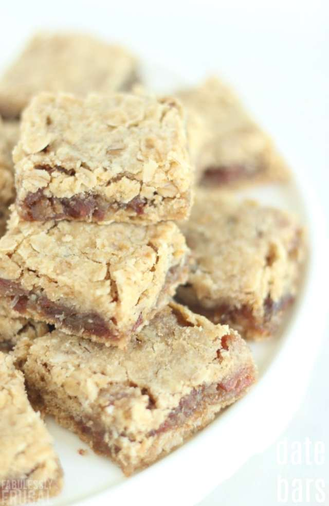 easy old fashioned date bar cookies recipe
