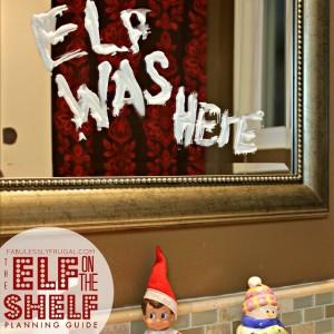 Elf on the Shelf mischievous idea: Toothpaste Graffiti Artist
