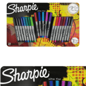 Amazon: 21-Count Sharpie Ultra Fine Point Permanent Markers $8.84 (Reg....
