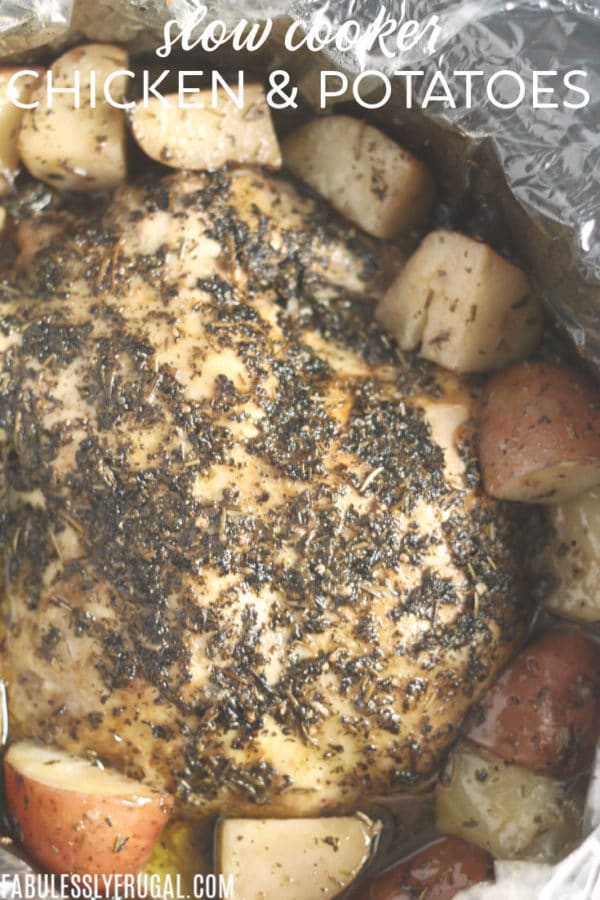 crockpot chicken and potatoes easy recipe