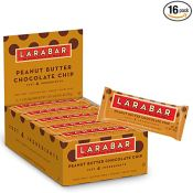 Amazon: 16 Count Larabar Gluten Free Bar, Peanut Butter Chocolate Chip...
