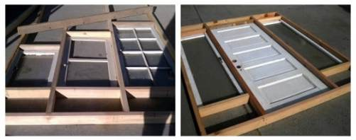 DIY greenhouse materials