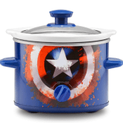 Amazon: 2-Quart Marvel Captain America Shield Slow Cooker $10.42 (Reg....