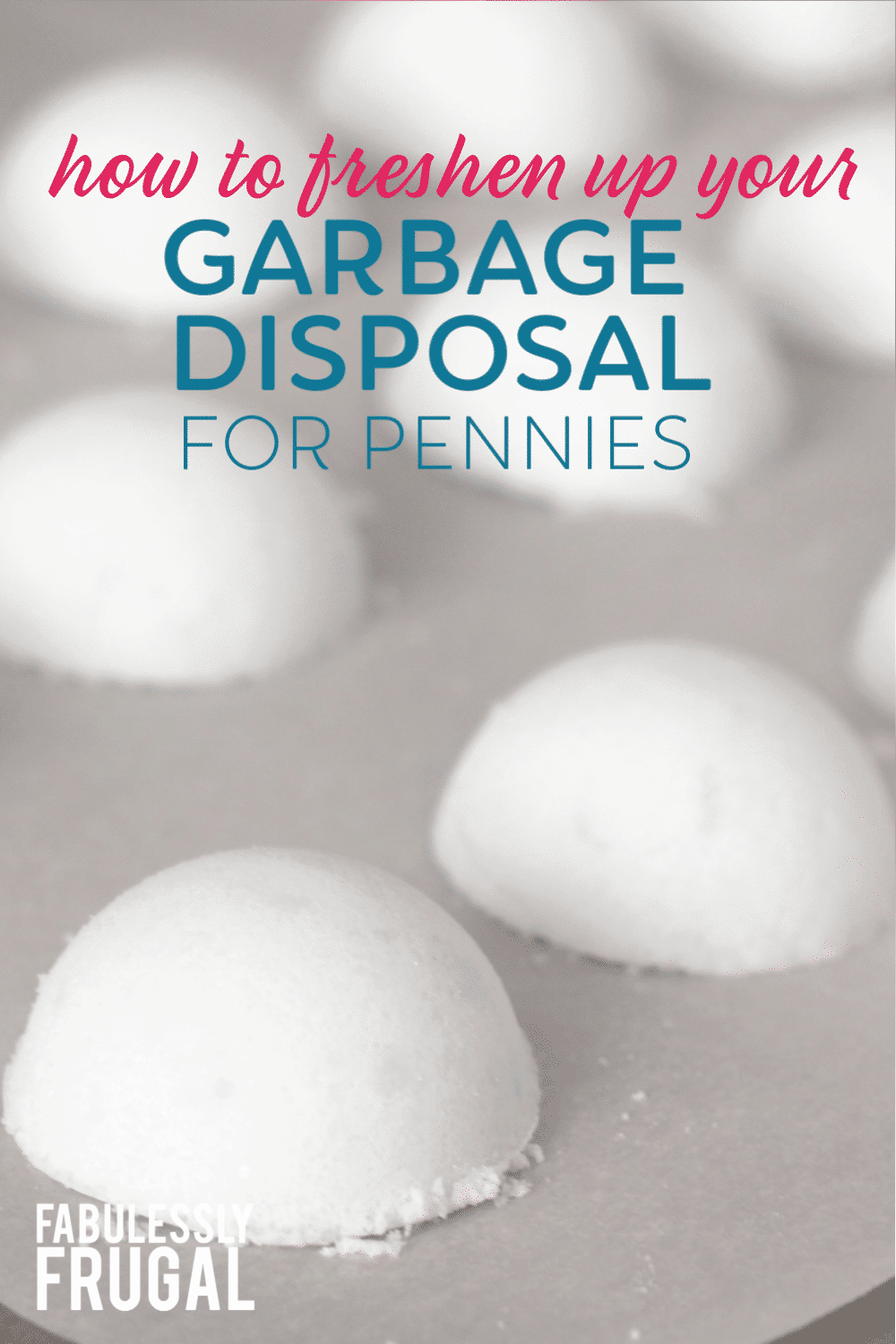 How to clean garbage disposal for pennies