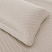 Amazon: AmazonBasics Oversized Embossed Coverlet + 1 Pillow Sham - Twin,...