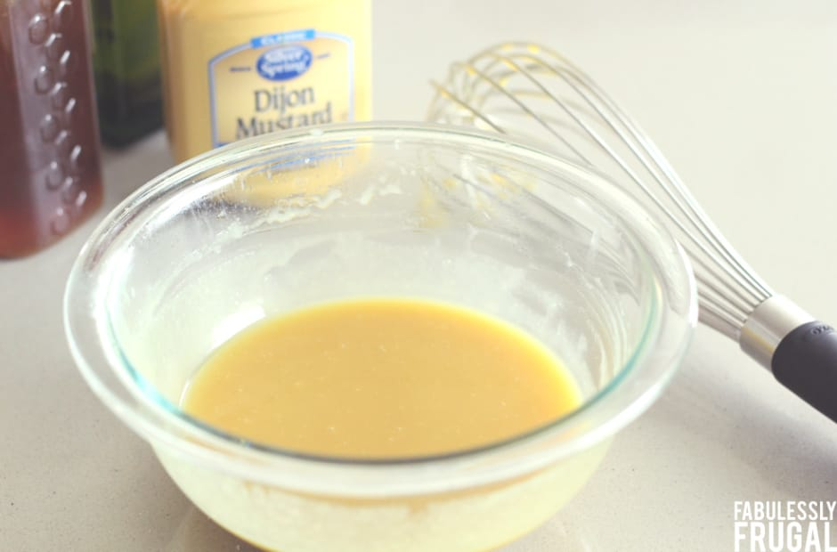 easy honey mustard glaze for chicken