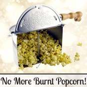 Amazon: Pop Stovetop Popcorn Popper $24.77 (Reg. $42.99)