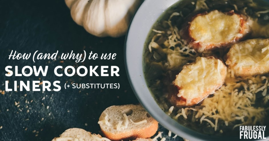 How to use slow cooker liners