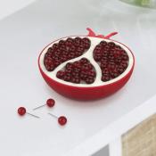 Amazon: Pomegranate Push Pin Holder and Pins Set $8.09 (Reg. $10)