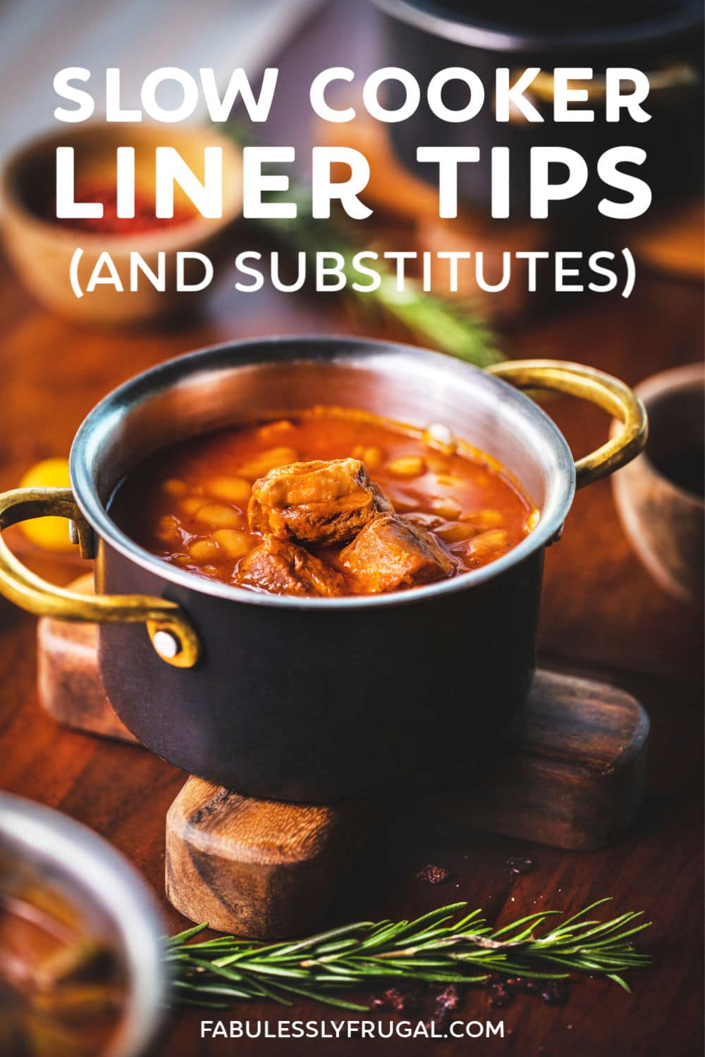 Slow cooker liner substitute