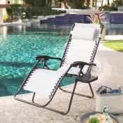 Walmart: Zero Gravity Chair w/ Drink Tray & Sunshade $39.37 (Reg. $49.99)