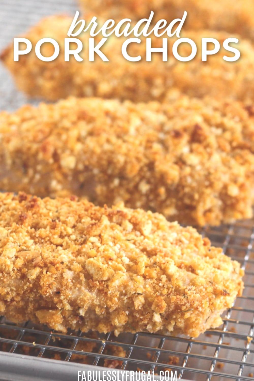 Oven breaded pork chops recipe