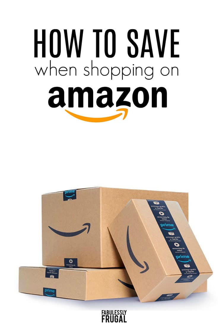 How to save money shopping on Amazon