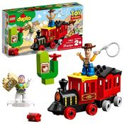 Amazon: 21-Piece LEGO DUPLO Disney Pixar Toy Story Train Building Blocks...