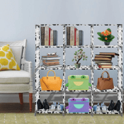 Amazon: 4-Tier Storage Cube Closet Organizer $26.98 After Code (Reg. $53.96)...