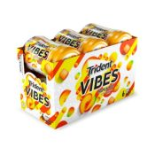 Amazon: Trident Vibes Tropical Beat Chewing Gum - 6 Bottles (240 Pieces)...