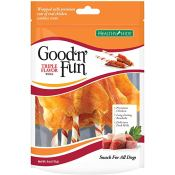 Amazon: 4 oz Healthy Hide Good 'n' Fun Triple Flavor Wings for Dogs as...