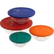 Amazon: 8-Piece Pyrex Smart Essentials Mixing Bowl Set $16.99 (Reg. $33.40)