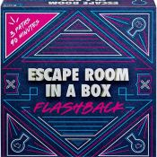 Amazon: Mattel Games Escape Room in A Box: Flashback Game $10 (Reg. $29.99)