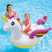 Amazon: Intex Unicorn Inflatable Ride-On Pool Float $16.96 (Reg. $19)