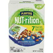 Amazon Prime: Pack of 7 NUTrition Lightly Salted Wholesome Nuts,1.25 oz...