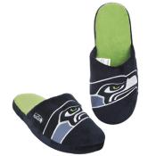 Amazon: Seattle Seahawks Big Logo Men Slipper, Medium $8.50 (Reg. $24.99)