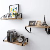 Amazon: Set of 3 Floating Shelves Wall Mounted $16.99 (Reg. $39.99)