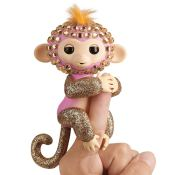 Amazon: WowWee Fingerlings Monkeys - Fingerblings - Glimmer (Pink/Rose...