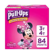 Amazon Prime: 84 Count Huggies Pull-Ups Learning Designs Potty Training...
