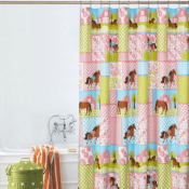 Walmart: Mainstays Kids Country Meadows All Over Printed Shower Curtain...