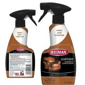 Amazon: Weiman Leather Cleaner and Conditioner Trigger - 12 Ounce $3.82...