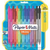 Amazon: 16 Pack Paper Mate Assorted Color InkJoy Retractable Ballpoint...
