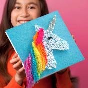 Amazon: Unicorn String Art Canvases $16.04 (Reg. $25.11)