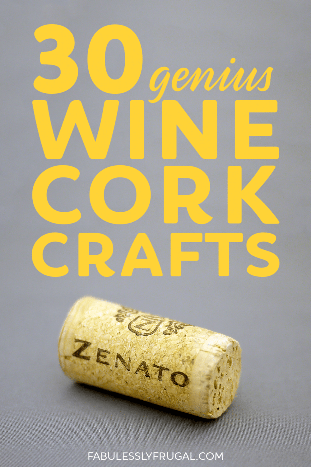 Genius wine cork crafts