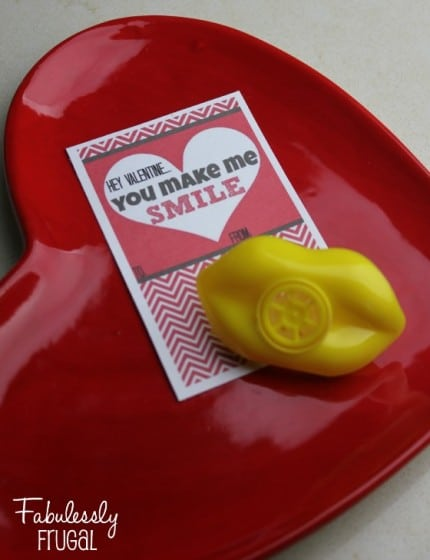 You make me smile homemade valentine cards