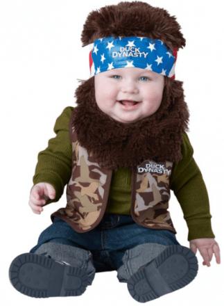 Duck Dynasty Baby Boy's Willie Costume