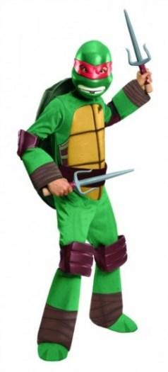 Teenage Mutant Ninja Turtles Deluxe Raphael Costume boys